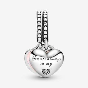 Pandora Jewelry - PANDORA Mother & Daughter Hearts Dangle Charm